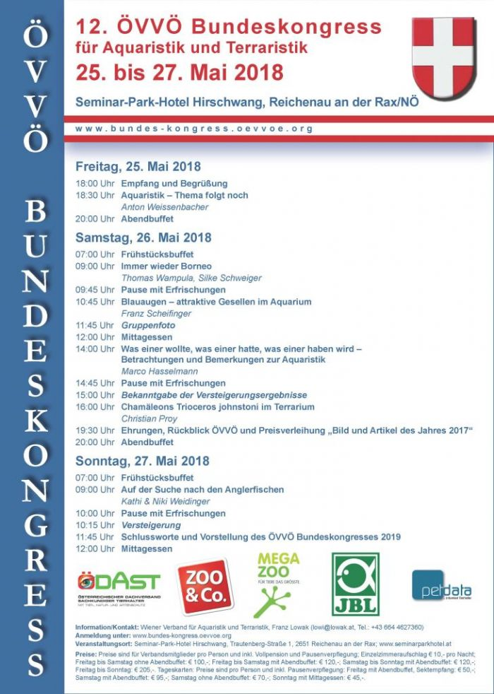 Flyer ÖVVÖ Bundeskongress 2018