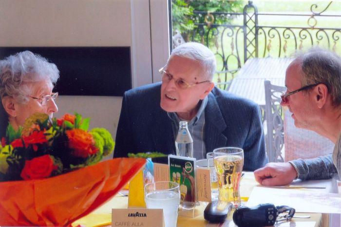 Otto Gartner anlässlich seines 90. Geburtstages