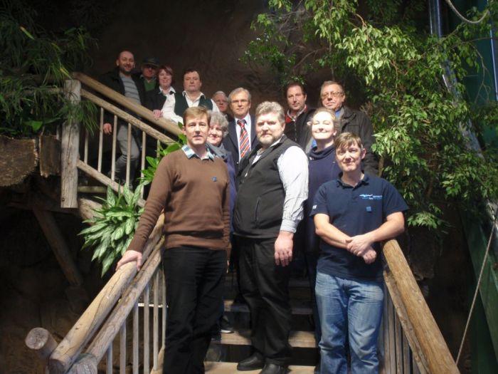 Gruppenfoto von der Gründung der ÖDAST